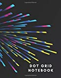 Dot Grid Notebook: Dotted Journal - a savings guide, habit tracker, upcoming movie list, budget, planner, meal planning, to do list, health trackers ... you want to record or stay accountable too.