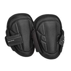 AmazonCommercial Gel-Foam Soft Cap Work Knee Pads, 9 in, Black, 1 pair