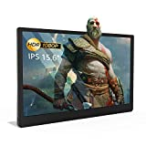 C-FORCE CF011X 15.6' 1080p IPS USB-C Portable Display HDMI & PD Monitor Inbox Power Adapter & Stereo & 3.5mm Jack Monitor for Xbox, Playstation, Nintendo Switch, MacBook, iPad Pro 2018, S10, P30 More