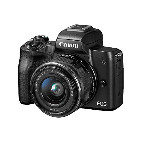 Canon EOS M50 Mirrorless Vlogging Camera...