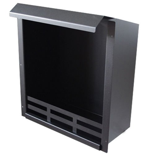 Combustion Chamber Fireplace Insert Black 48,5x41x23 cm Bio Ethanol Gel Fire