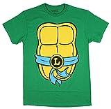 Teenage Mutant Ninja Turtles TMNT Mens Costume T-Shirt (Large, Leonardo) by Nickelodeon