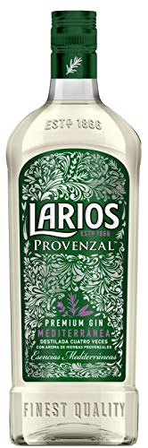 LARIOS Provenzal Ginebra Mediterránea 37.5%, 700ml