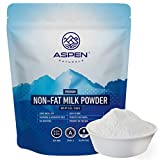 Aspen Naturals NonFat Milk Powder - Non-GMO for Adults and Children, 5 LB - Fat Free Dry Milk Powder with Protein and Calcium - Great for Baking