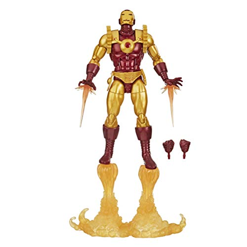 Figura cómica Marvel Legends Iron Man - E8708 - Hasbro