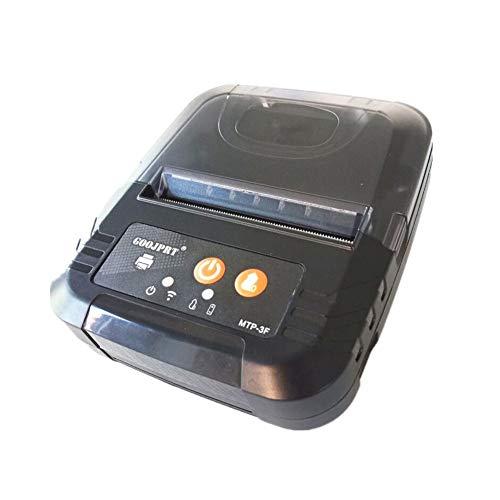 Stampante termica per ricevute portatile Personal Mobile Stampante Mini Wireless Bluetooth per sistemi iOS e Android, POS/Star Print Command Set / 80 MM USB stampante termica compatibile con ES