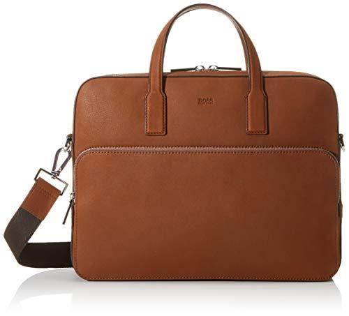BOSS Herren Crosstown C_s Doc C Business Tasche, Braun (Light/Pastel Brown), 8.5x30x38 cm