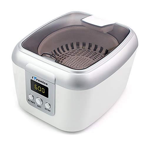 iTronics 600ML Pulitore ad Ultrasuoni Lavatrice ad Ultrasuoni Professionale con 5 modalit di Tempo...