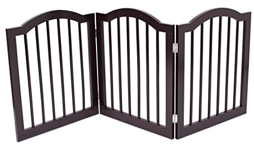 Internet's Best Pet Gate with Arched Top - 3 Panel...