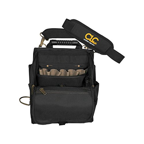 6. CLC Custom Leathercraft 1509 21-Pocket Zippered Professional Electricians Tool Pouch