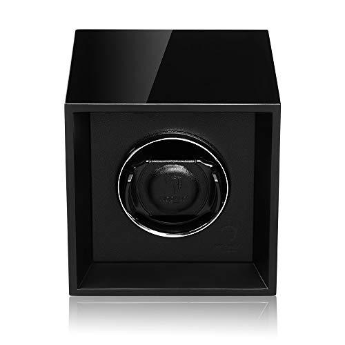 MODALO Uhrenbeweger Impress für 1 Automatikuhr (Schwarz)