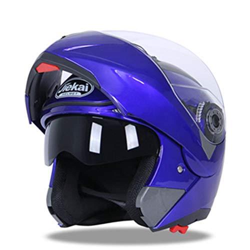 Generic Motorradhelm Doppelvisier Integral Racing Casco Motocrosshelme Modularer Klapphelm
