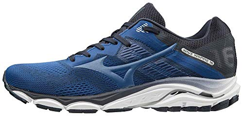 Mizuno Men's Wave Inspire 16 Road Running Shoe, True Blue, 10.5 D US