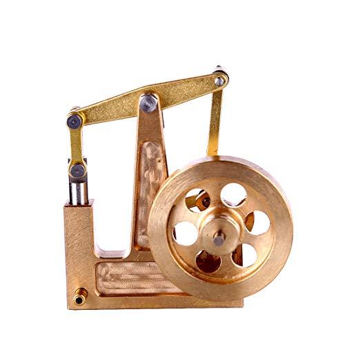 POXL Mini Dampfmaschinen Motormodell, DIY Alles Kupfer Dampfmaschinen Bausatz Balance Dampfmaschinen Modellbau Ohne Kessel Lernspielzeug