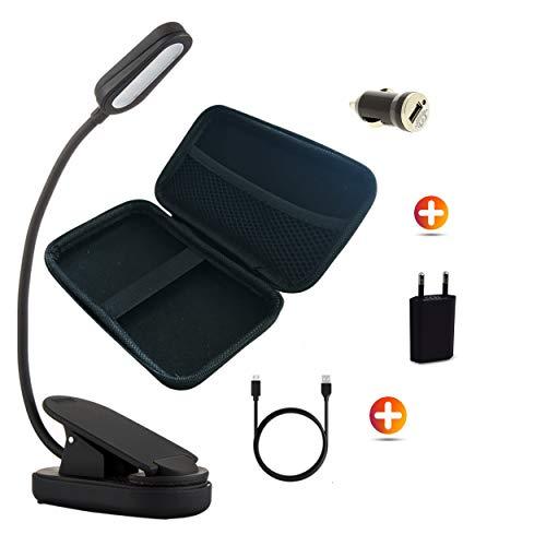 L-skills, Kit De Voyage, Lampe De Lecture USB Rechargeable Led, Liseuse...