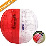 Hurbo Inflatable Bumper Ball Bubble Soccer Ball Giant Human Hamster Ball for Adults and Kids (Red)