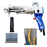 YUESUO Electric Hand Rug Tufting, Industrial Embroidery Machine, Carpet Weaving and Flocking Machine Kit, 5-40 Needles/sec Adjustable Hand-held Knitting Machine Gun 110v-220v
