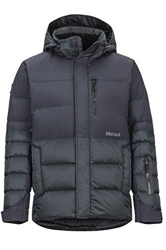 Marmot Shadow Jacket Piumino Da Neve, Densit Dell'imbottitura 700, Abbigliamento Da Sci E Snowboard, Antivento, Impermeabile, Traspirante, Uomo, Black, L