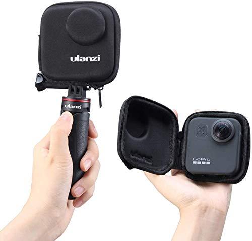 ULANZI Mini Custodia da trasporto Custodia protettiva portatile Custodia da viaggio Borsa da viaggio per GoPro Max Camera, compatibile con accessori per monopiede con asta per selfie