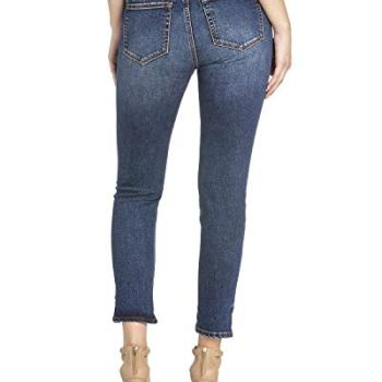 Miss Me - Damen Mid-Rise Ankle Skinny Jeans