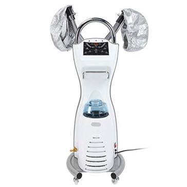 One Button Start Stand Hair Steamer Salon Hair Styling Tool High Speeds Vibration Mist Filter For Home For Hair Salon For Beauty Salon For Barbeshop