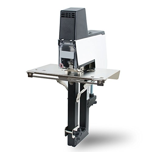 Funwill, macchina cucitrice a pedale, unisce da 2 a 50 fogli, resistente, con piatto elettrico e...