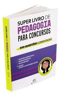 Super Livro De Pedagogia Para Concursos