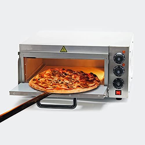 Forno per pizza professionale in acciaio inox, 2000W, 350C Fornetto elettrico