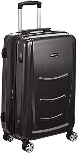 AmazonBasics - Trolley rigido, 55 cm (utilizzabile come bagaglio a mano di dimensioni standard),...