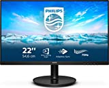 Philips Monitors 221V8LD/00-22 Full HD, 75Hz, VA, Adaptive Sync (1920x1080, 250 CD/m, HDMI 1x1.4)