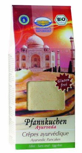 Govinda Ayurvedischer Pfannkuchenmix, 2er Pack (2 x 350 g Karton) - Bio