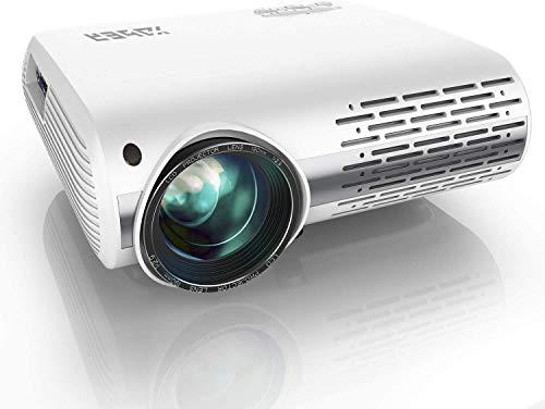 YABER Proiettore 6800 Lumen Videoproiettore Nativa 1080P 4D Keystone Correction 50 Led Full Hd...
