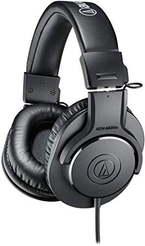 audio-technica プロフェッショナルモニターヘッドホン ATH-M20x スタジオレコーディング / 楽器練習 / ミ...