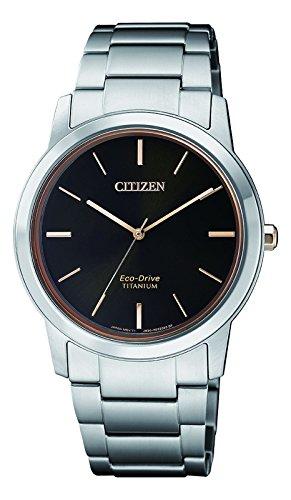 CITIZEN Damen Chronograph Solar Uhr mit Titan Armband FE7024-84E