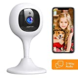 [2020 New] APEMAN Baby Monitor Camera with Crying Alerts and 2-Way Audio 1080P WiFi Home Security Camera with Motion Detection Night Vision, Compatible with Alexa/Cloud Service/iOS and Android System