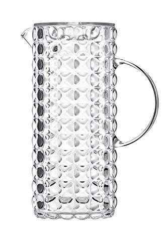 Guzzini Caraffa Tiffany, Trasparente, 11.5 x 18.5 x h25.5 cm