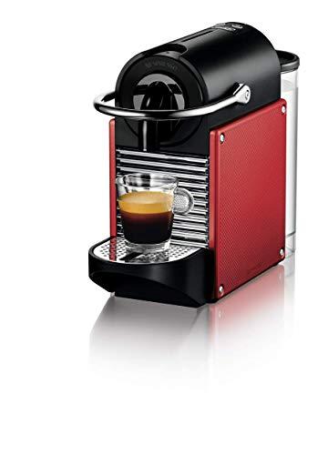 De' Longhi Pixie EN 125.R | Voor espresso en lungo | Stroomverbruik 1.260 watt | Thermoblock systeem | Mooie retro-look | Gratis voucher voor 16 capsules