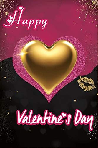Happy Valentines Day: Notebook 6x9 - 120 Pages   Non Cheesy Valentines Day Gift For Him   First Valentines Presents For Boyfriend   Valentine Gifts ... Day   February 14 Journal To Write In