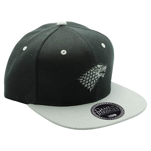 ABYstyle - Game of Thrones - Gorra Stark - Negro y Gris - Talla Unica