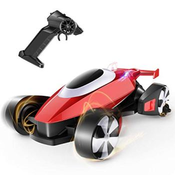 tech rc Remote Control Car, 2.4GHz RC Drift Car for Kids, 30+mins Playtime, 18km/h High-Speed Racing Truck with 2 Driving Modes, Electric Hobby Stunt Buggy Tech Toys for Children & Adults