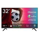 Hisense HD TV 2020 32AE5500F - Smart TV Resolución HD, Natural Color Enhancer, Dolby Audio, Vidaa U 2.5 con IA, HDMI, USB, Salida auriculares