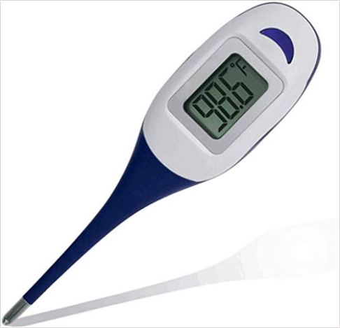 Baby-Digital-Thermometer-Quick-30-60-Seconds-Reading-for-Oral-Rectal-Armpit-Underarm-Body-Temperature-Clinical-Professional-Detecting-Fever-Baby-Infant-Kid-Babies-Children-Adult-and-Pet