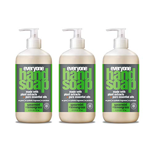 Everyone Hand Soap, Spearmint and Lemongrass, 12.75 Fl Oz (Pack of 3)