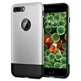 【Spigen】 「10周年限定版」 iPhone8 Plus ケース 初代 オリジナル iPhone 完全再現 Classic One 055CS24412 (アルミニウム・グレー)