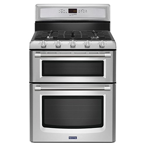 Maytag MGT8720DS Gemini 30' Stainless Steel Gas Sealed...