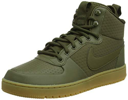 Nike Ebernon Mid Winter, Zapatos de Baloncesto para Hombre, Verde (Olive Canvas/Olive Canvas 300), 42.5 EU