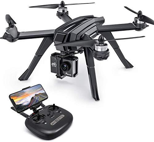 Potensic Drone Brushless GPS WiFi 5G con VideoCamera 2K FPV RC 130 Grandangolare Drone Professionale D85 con Funzione Seguimi, Headless per Camera C6000 C5000 C4000
