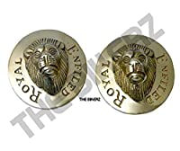 Swing Arm Cap for Royal Enfield Motorcycle Lion Shape casting in metal Brass Pure Golden Look for your beast Brass Accessories Customize your motorcycle your way