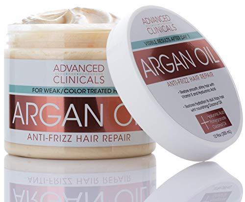Advanced Clinicals Argan Oil Anti-Frizz Hair...