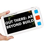 Eyoyo Portable Digital Magnifier Electronic Reading Aid 5.0 inch w/Foldable Handle for Low Vision Color Blindness 4X-32X Times Zoom 17 Color Modes 5 Levels for Brightness